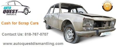 Sell Used Auto Parts or Junk Car -  Contact Now: 818-767-0707
