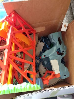 Box of thomas the train parts