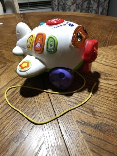 Vtech fly and learn plane