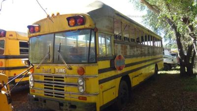 RAISED ROOF 1982 Bluebird Motor Home School Bus