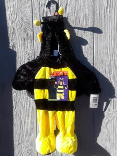 NEW 0-6 month bumblebee bee costumes retail $25.99