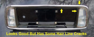 Sell 2000 - 2005 Cadillac Deville DHS DTS Backup Lights License Plate OEM TRUNK Lid motorcycle in East Bridgewater, Massachusetts, US, for US $59.99