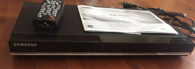 Samsung C500 DVD Player with remote