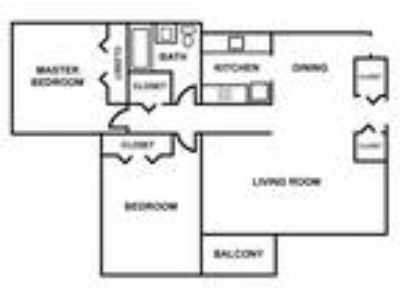 Meadowbrook Apartments - Two BR apartment
