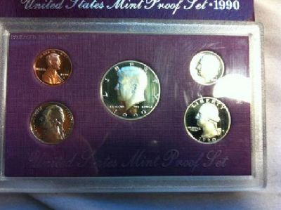 $10 1990 United States Limited-Edition Proof Set
