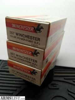 For Sale: .307 Winchester ammunition