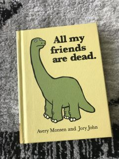Hardcover funny book