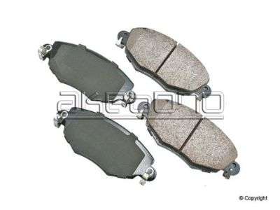 Sell Disc Brake Pad-Akebono Euro Front WD EXPRESS fits 02-08 Jaguar X-Type motorcycle in Springfield, Missouri, United States, for US $102.73