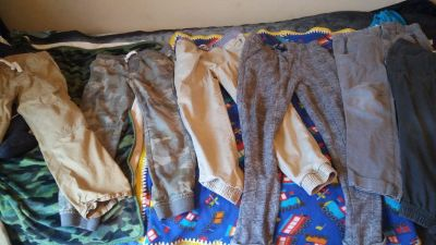 Boy's Pants Lot Cat &Jack and others