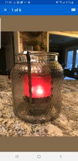 ISO 3 wick candle holder/ luminary