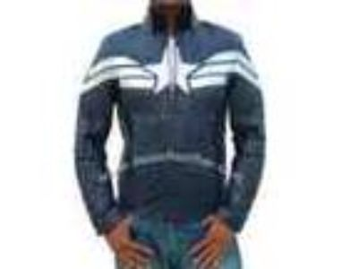 New Captain America Silver Stripe Star Jacket