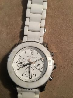 Juicy couture watch (ceramic)