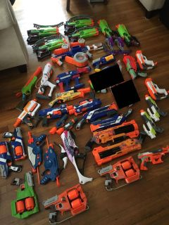 Various nerf for sale, will trade for a PS4 or A LOT of LEGOs.