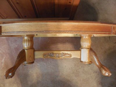 oak coffee table and end tables, price reduced!