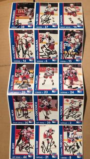 New York Rangers Autographed Cards