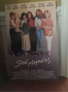 poster from movie. STEEL MAGNOLIAS