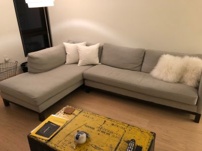 ABC Home Cobble Hill Prescott Sectional Sofa