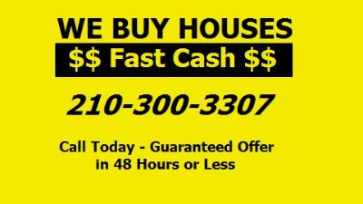 Sell Your House Fast in San Antonio TX