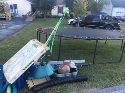 Free items left over yard sale