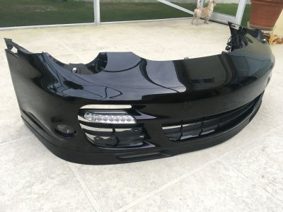 997.1 Turbo Front Bumper and parts (LED turns, fogs, grilles, lip, HL washers)