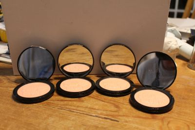$8 each or 4 for $25 Glow All Out Soap & Glory highlighting powder