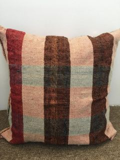 20 square multicolor pillow