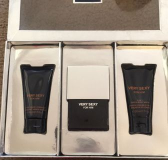 Victoria Secret Very Sexy For Him 3pc Gift Set Brand new in the box for Men s