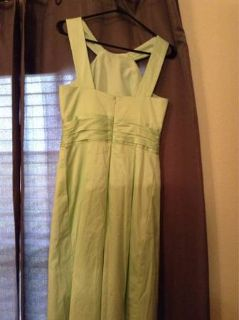 Davids bridal bridesmaid dress pistachio green size 6