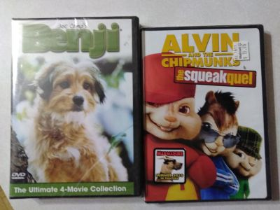 2 GREAT MOVIES NEVER BEEN OPENED!