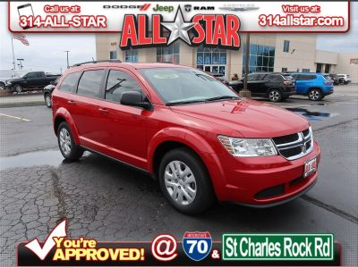 2018 Dodge Journey SE (Redline 2 Coat Pearl)