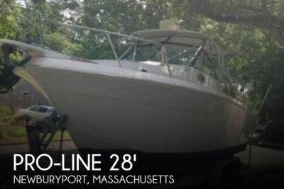 1987 Pro Line 28 Offshore Walkaround