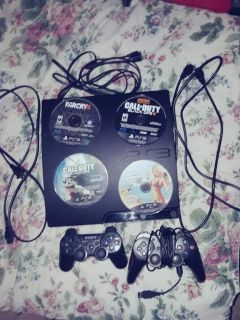 PS3 4games 2controllers. Amazon prime video account linked. 90obo