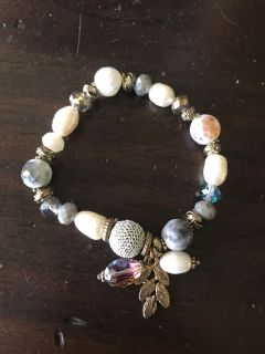 Boutique Beaded Stretch Bracelet