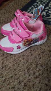 NWT paw patrol gym shoes