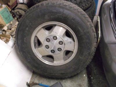 Cooper-Mastercraft tires and rims