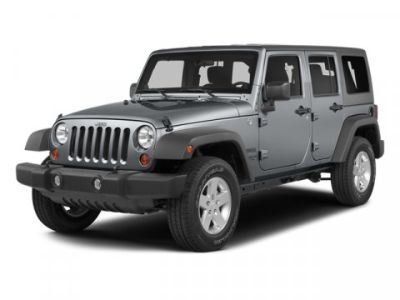 2014 Jeep Wrangler Unlimited Sahara (Hydro Blue Pearl Coat)