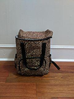 Cooler Backpack - Leopard Print!