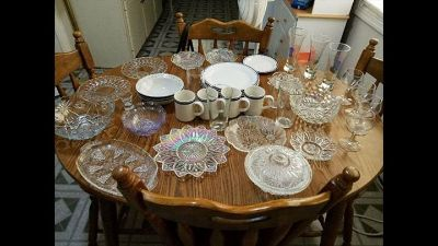 Glassware and kitchen items