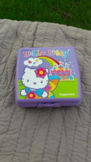 Hello Kitty tupperware container