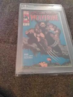 Marvel Comics Presents Wolverine #85 PGX 8.0
