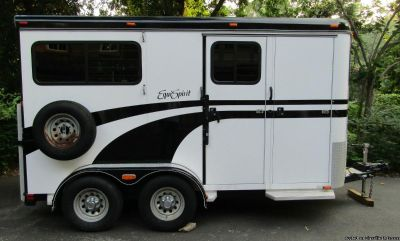 Only for sale!2008 EquiSpirit Trailer