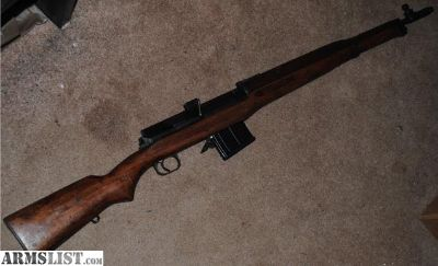For Sale: Egyptian Hakim 8mm Mauser Semi Automatic Rifle
