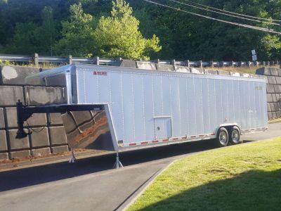 2011 Goldrush 34 foot GN/FW trailer