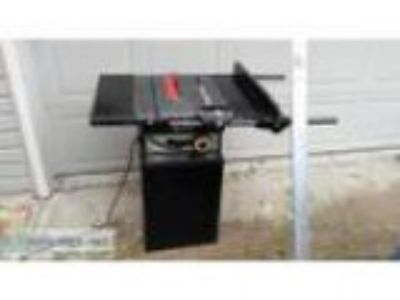Rockwell Model Table Saw with Cutting EdgeII guide