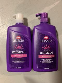 $8 new set Aussie total miracle shampoo and conditioner