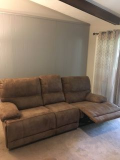 Sofa/loveseat recliner and rocker combo
