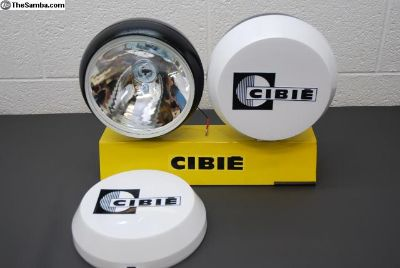 Genuine Cibie Super Oscar Spot Lights With covers