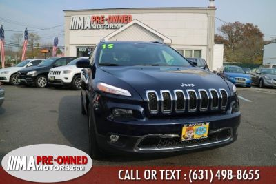 2015 Jeep Cherokee 4WD 4dr Limited (True Blue Pearlcoat)
