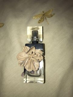 Glass perfume collector bottle