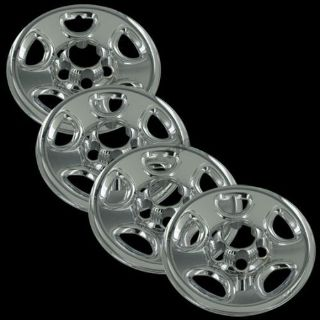 "Buy Silverado 16"" Chrome Full Wheel Skins Cover Replacement Hub Caps motorcycle in Mundelein, Illinois, United States"